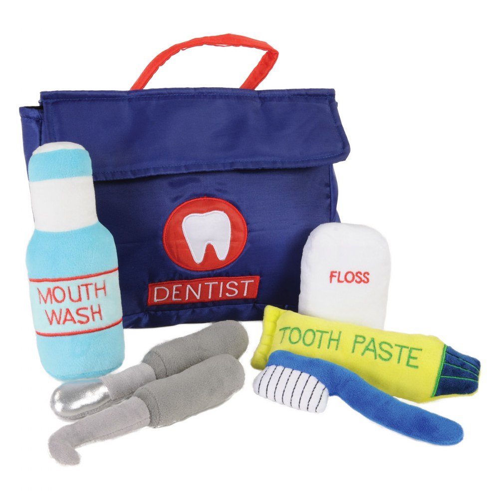Soft Toddler Dentist Kit - 7 Pieces