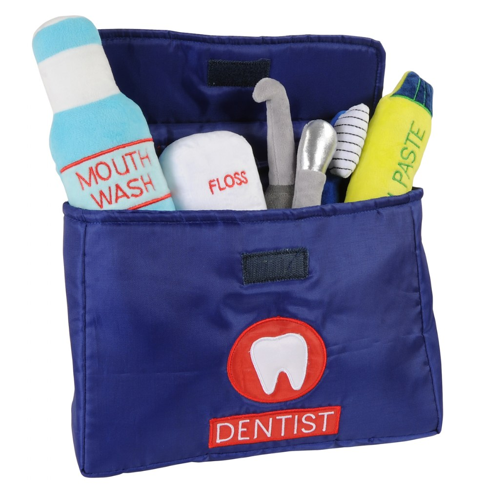 Alternate Image #3 of Soft Toddler Dentist Kit - 7 Pieces