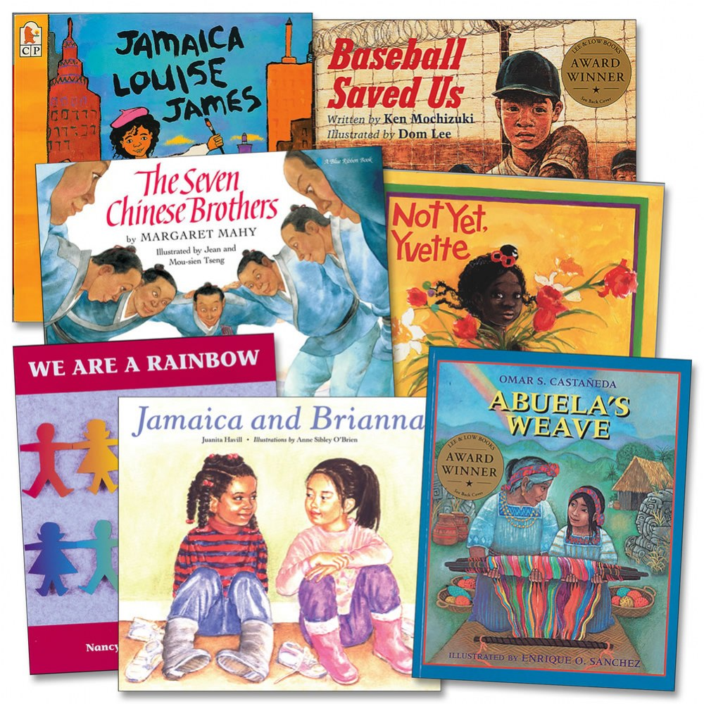 Multicultural Books - Set of 7
