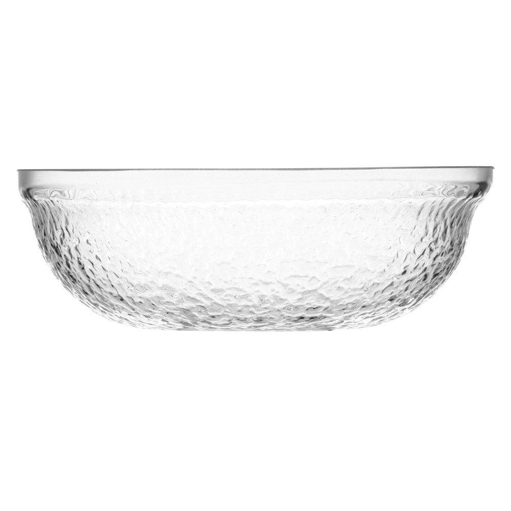 "6"" Clear Acrylic Round Bowl"