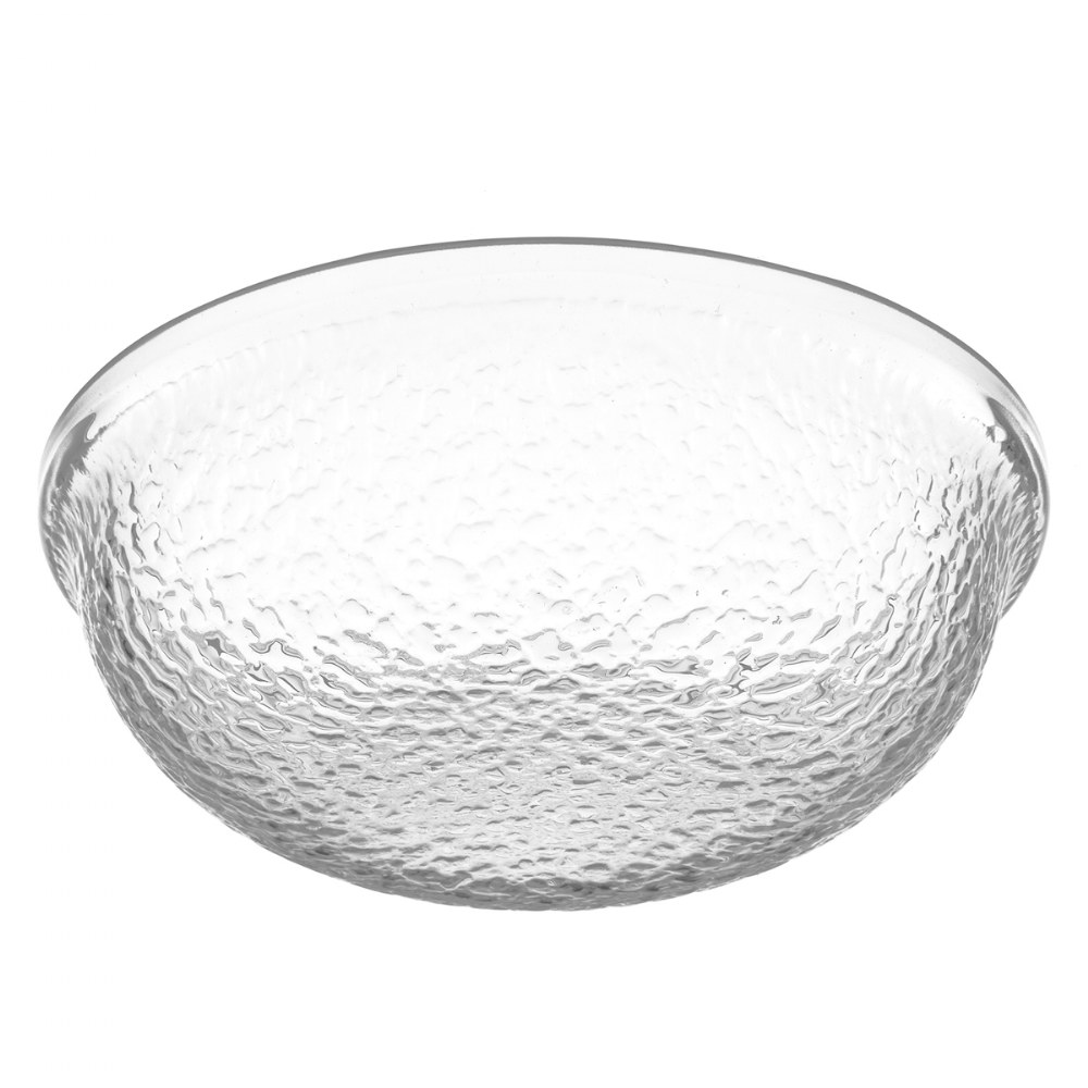 "Alternate Image #1 of 6"" Clear Acrylic Round Bowl"