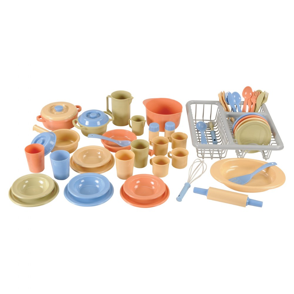 Toddler Kitchen Playset - 52 Pieces