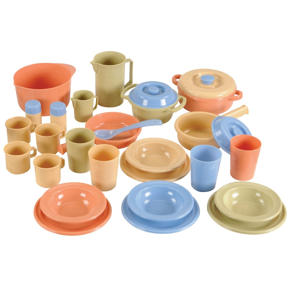 Alternate Image #1 of Toddler Kitchen Playset - 52 Pieces