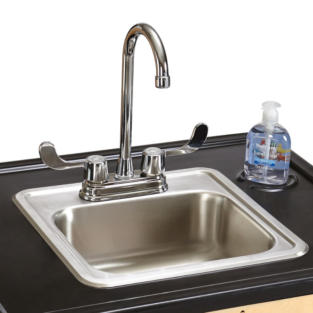 "Alternate Image #2 of Clean Hands Helper Portable Sink - 38"" Counter"