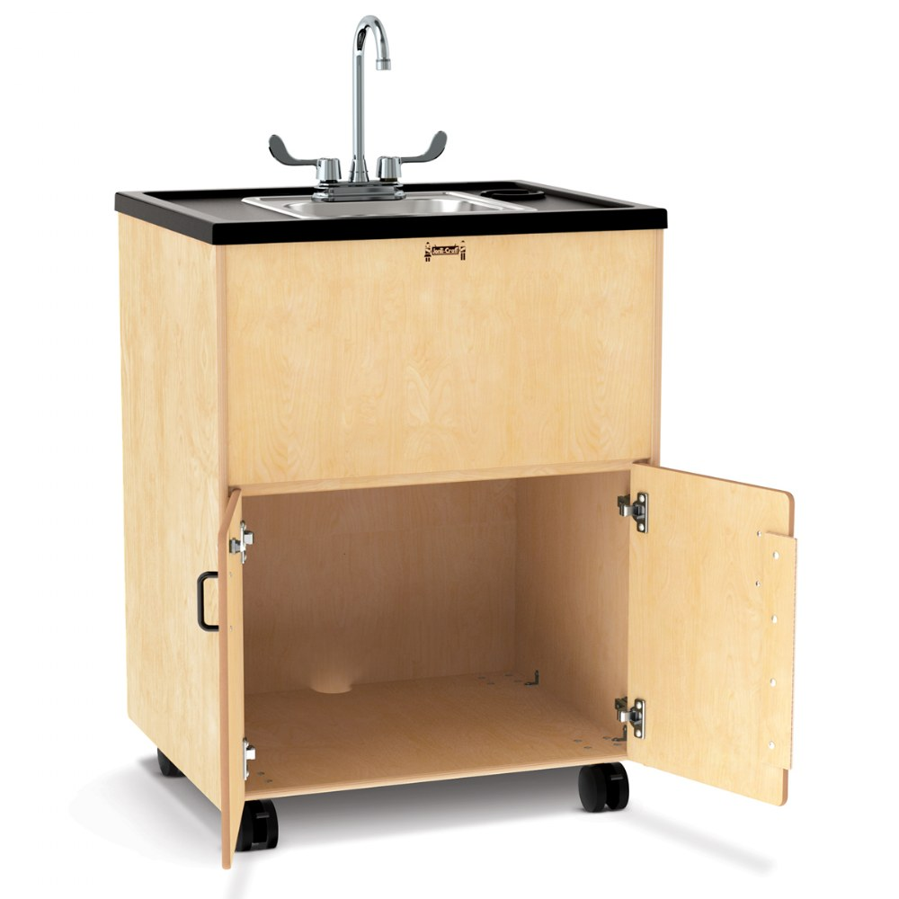 "Clean Hands Helper Portable Sink - 38"" Counter - Plumbing Required"