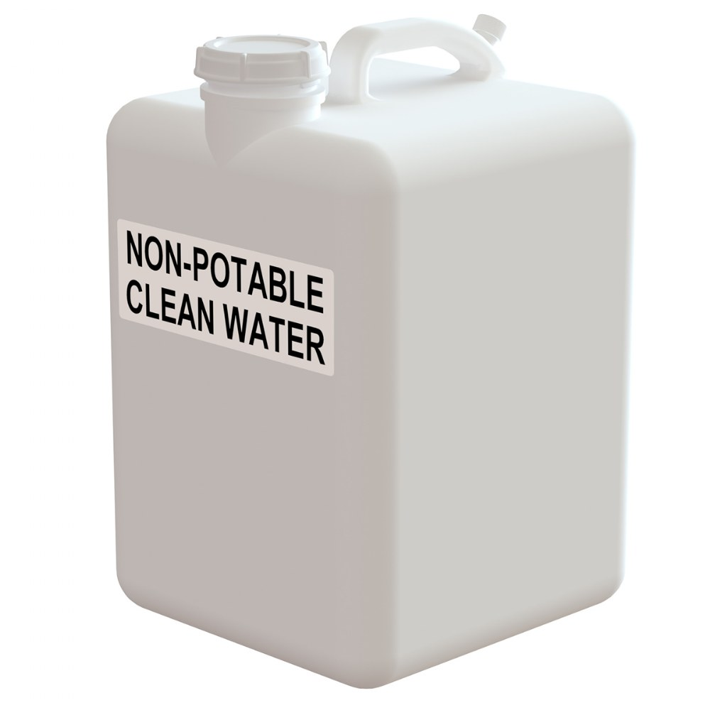 Non-Potable Clean Water Tank - Clean Hands Helper Portable Sink