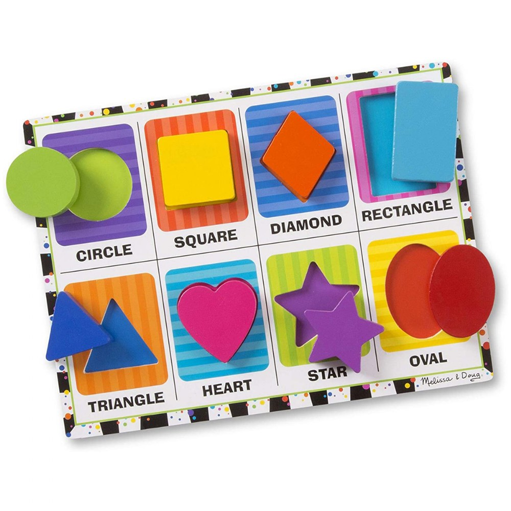 Alternate Image #5 of Chunky Puzzle Set 2 - Set of 4 Puzzles
