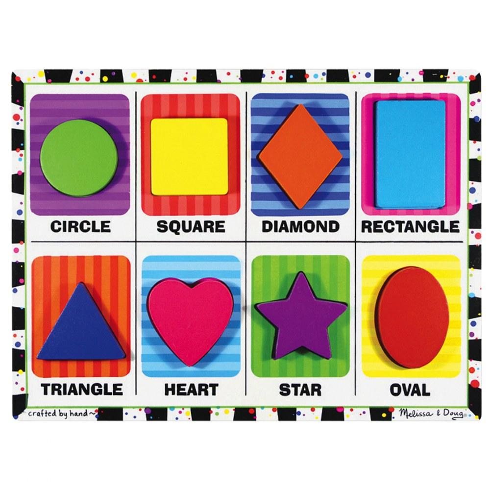 Alternate Image #4 of Chunky Puzzle Set 2 - Set of 4 Puzzles