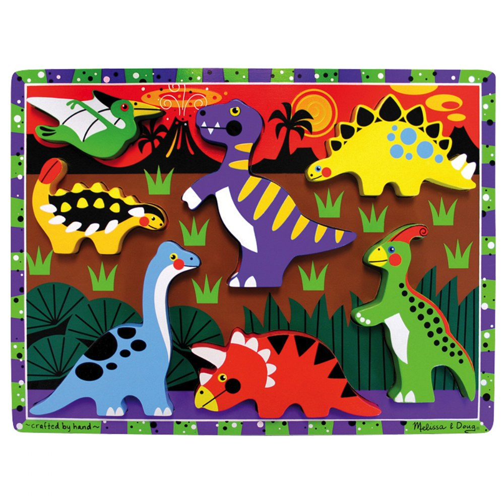 Alternate Image #6 of Chunky Puzzle Set 2 - Set of 4 Puzzles