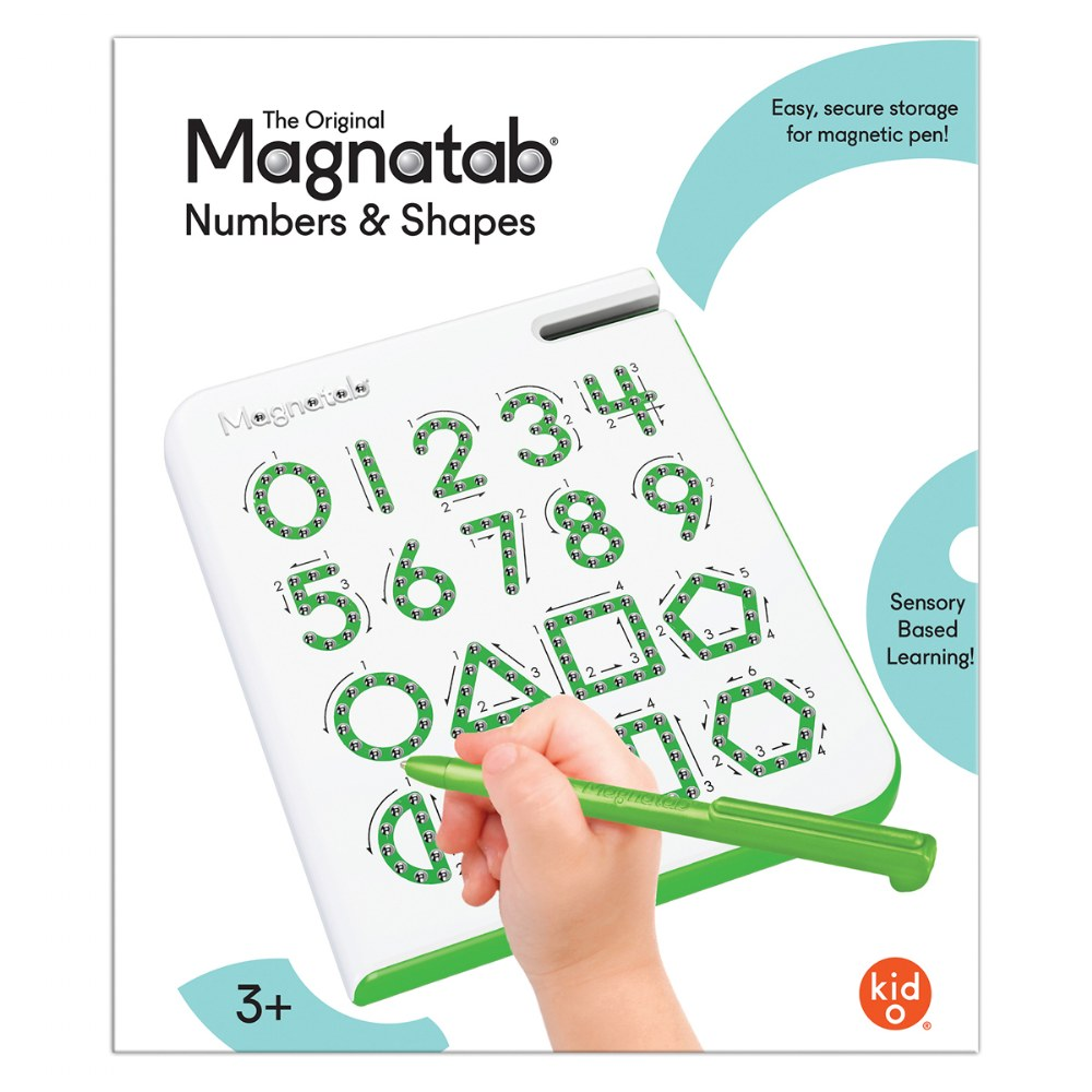 Alternate Image #2 of Magnatab Numbers and Shapes