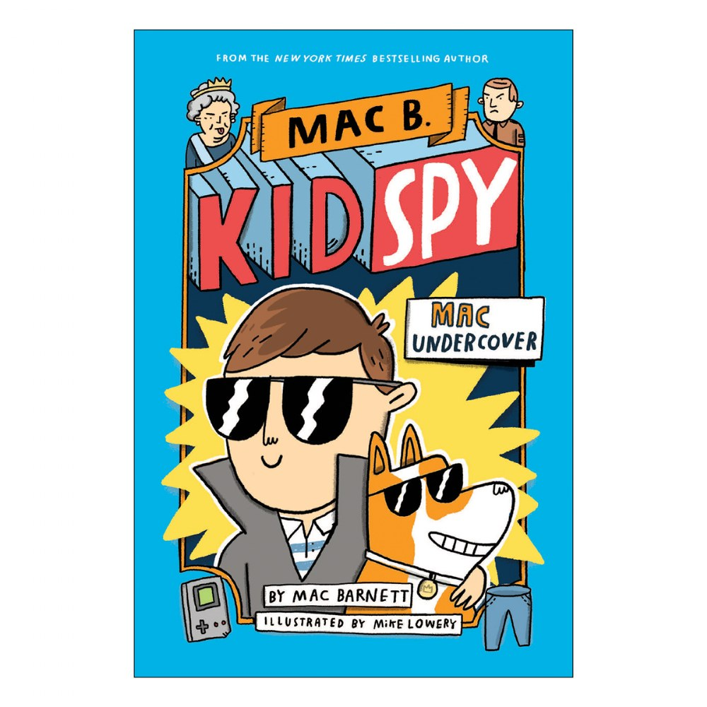 Alternate Image #1 of Mac B. Kid Spy Books