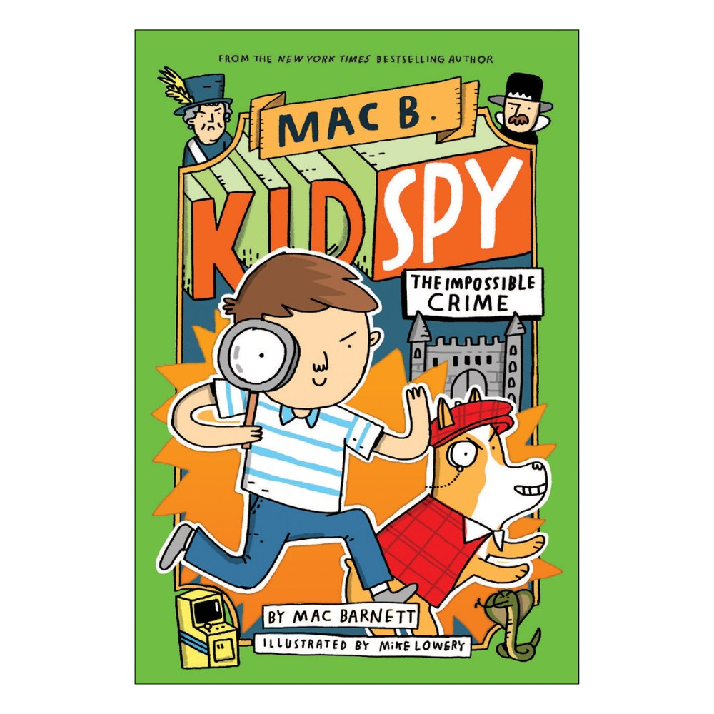 Alternate Image #2 of Mac B. Kid Spy Books
