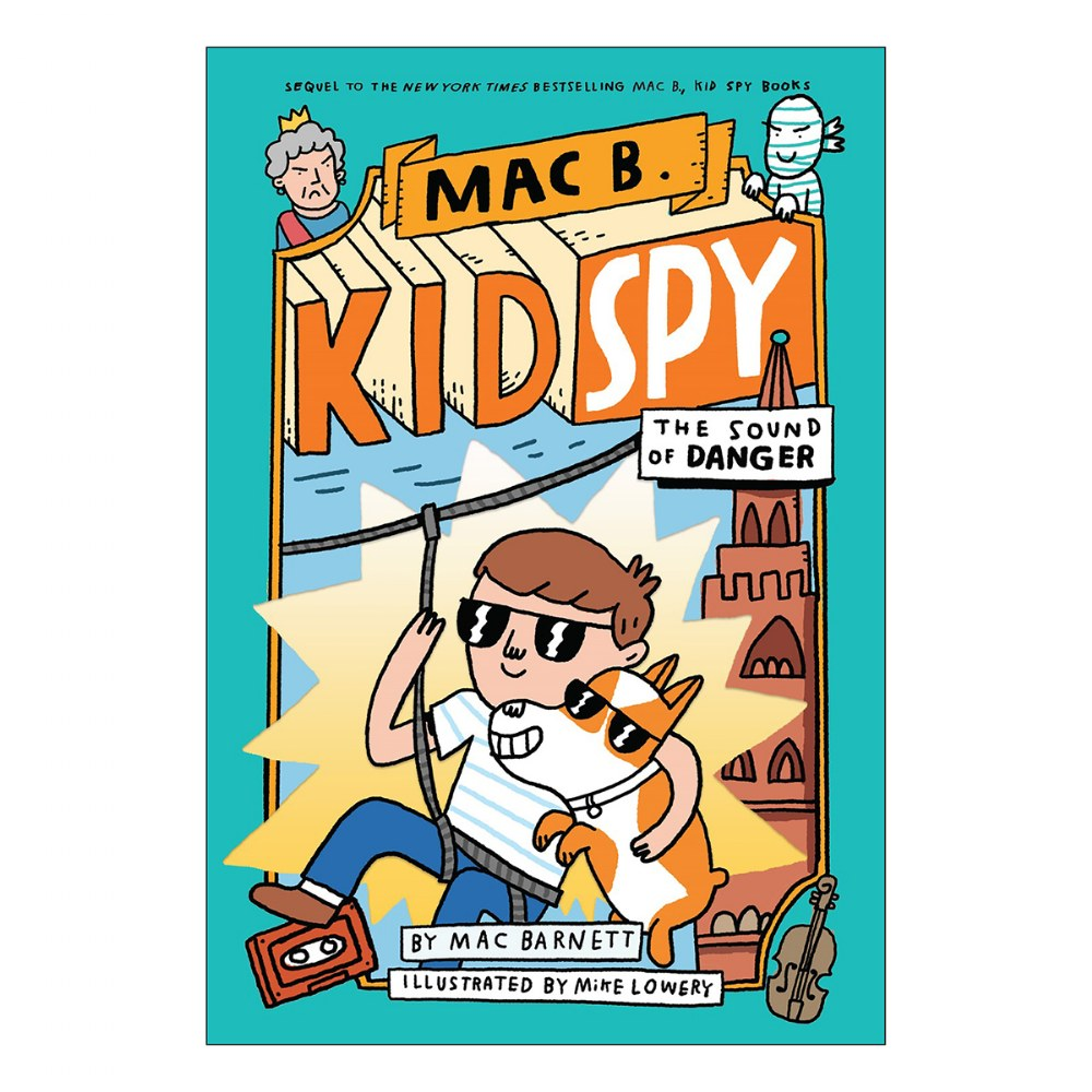 Alternate Image #5 of Mac B. Kid Spy Books