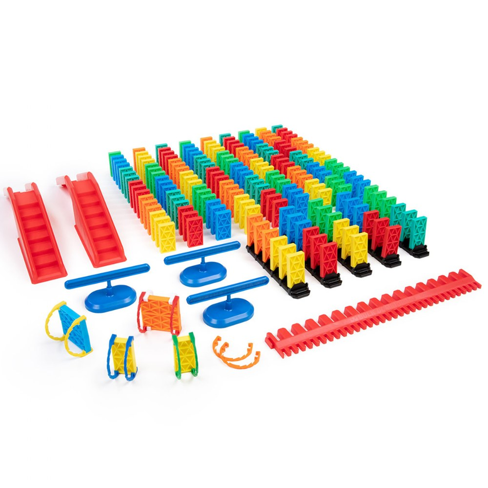 Alternate Image #1 of Kinetic Domino Toppling Kit - 204 Pieces