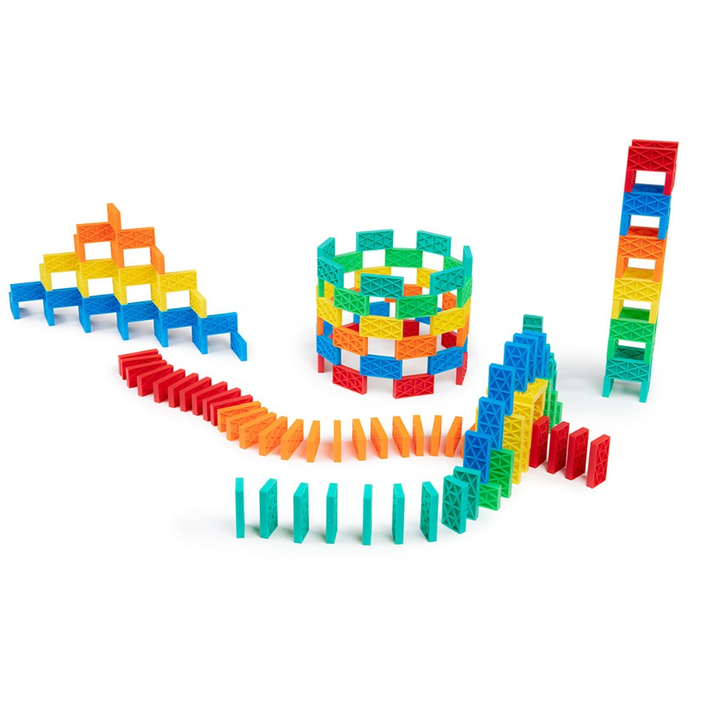 Alternate Image #3 of Kinetic Domino Toppling Kit - 204 Pieces