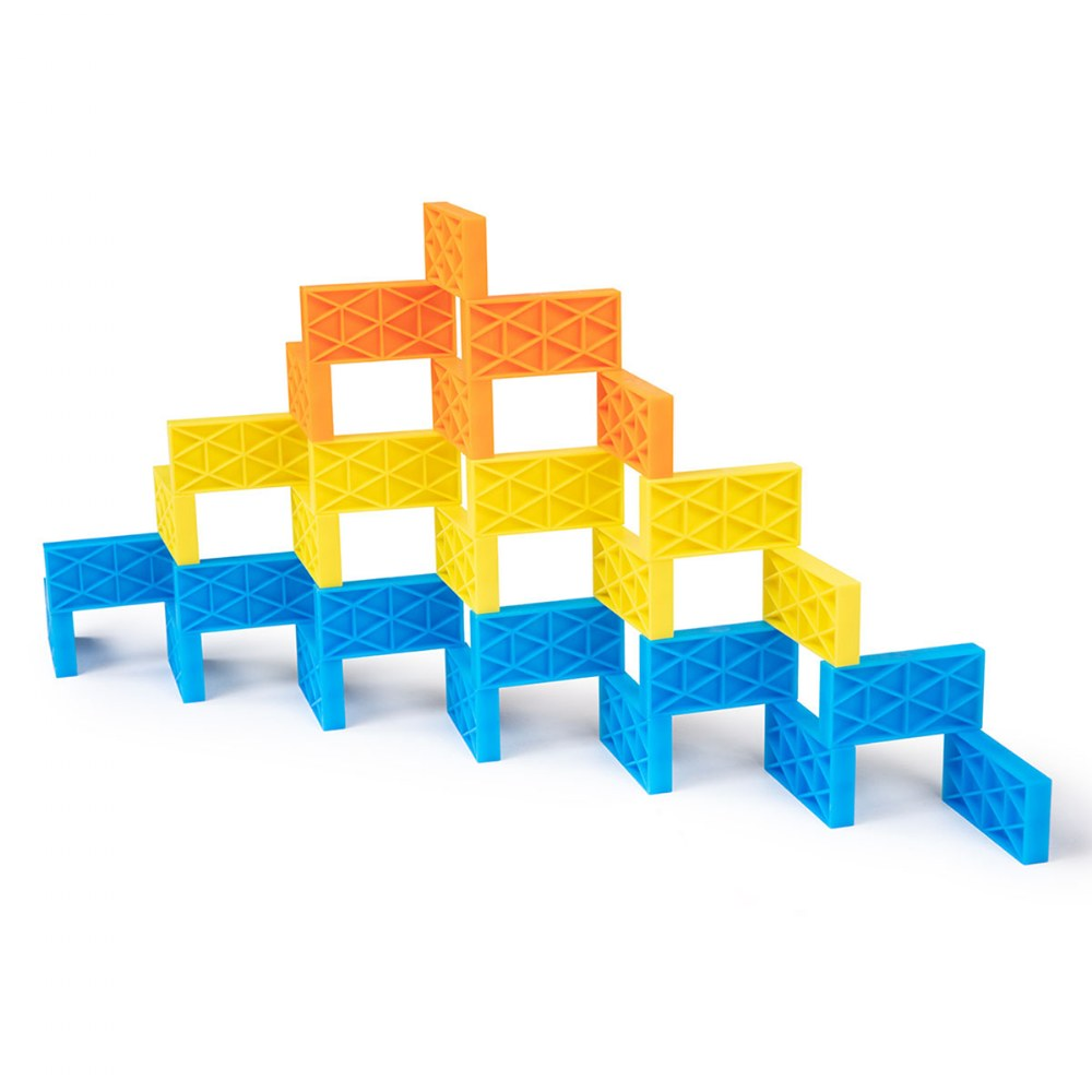 Alternate Image #4 of Kinetic Domino Toppling Kit - 204 Pieces
