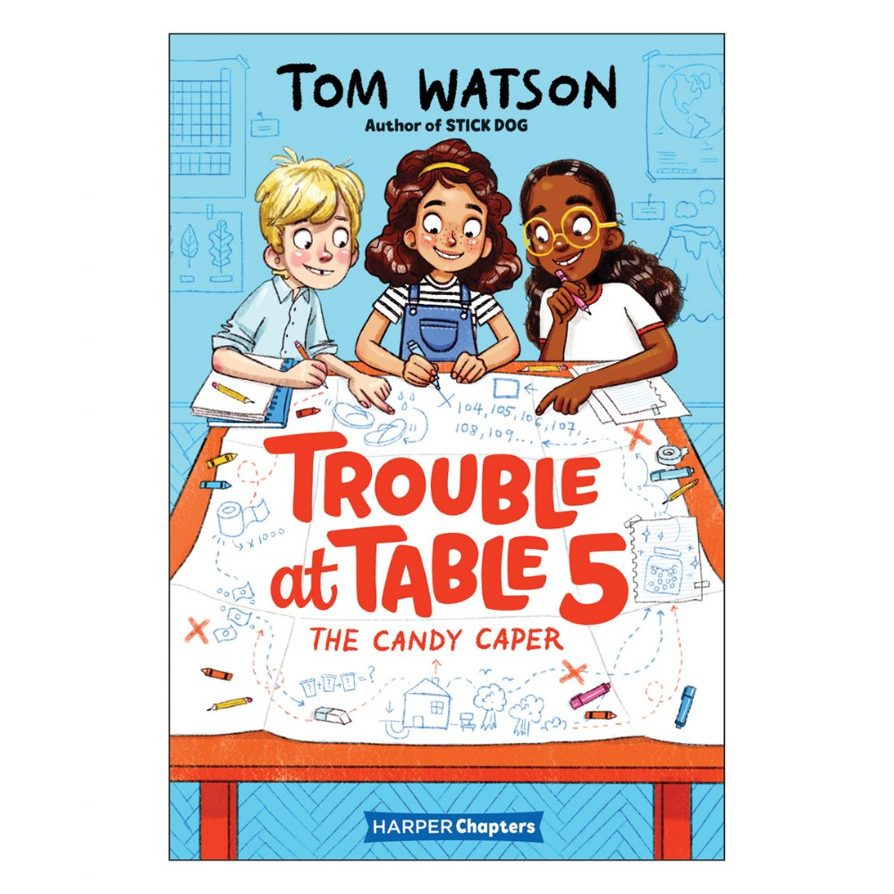Alternate Image #1 of Trouble at Table 5 Books