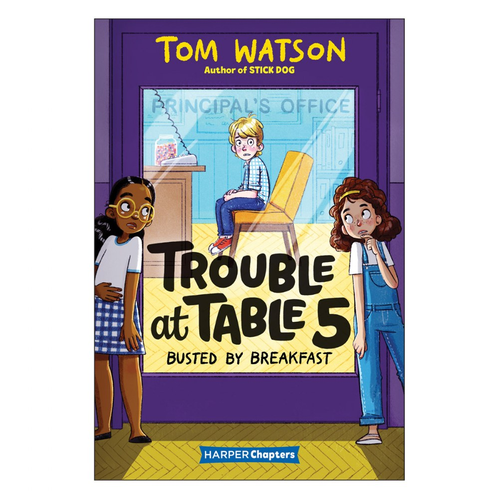 Alternate Image #2 of Trouble at Table 5 Books
