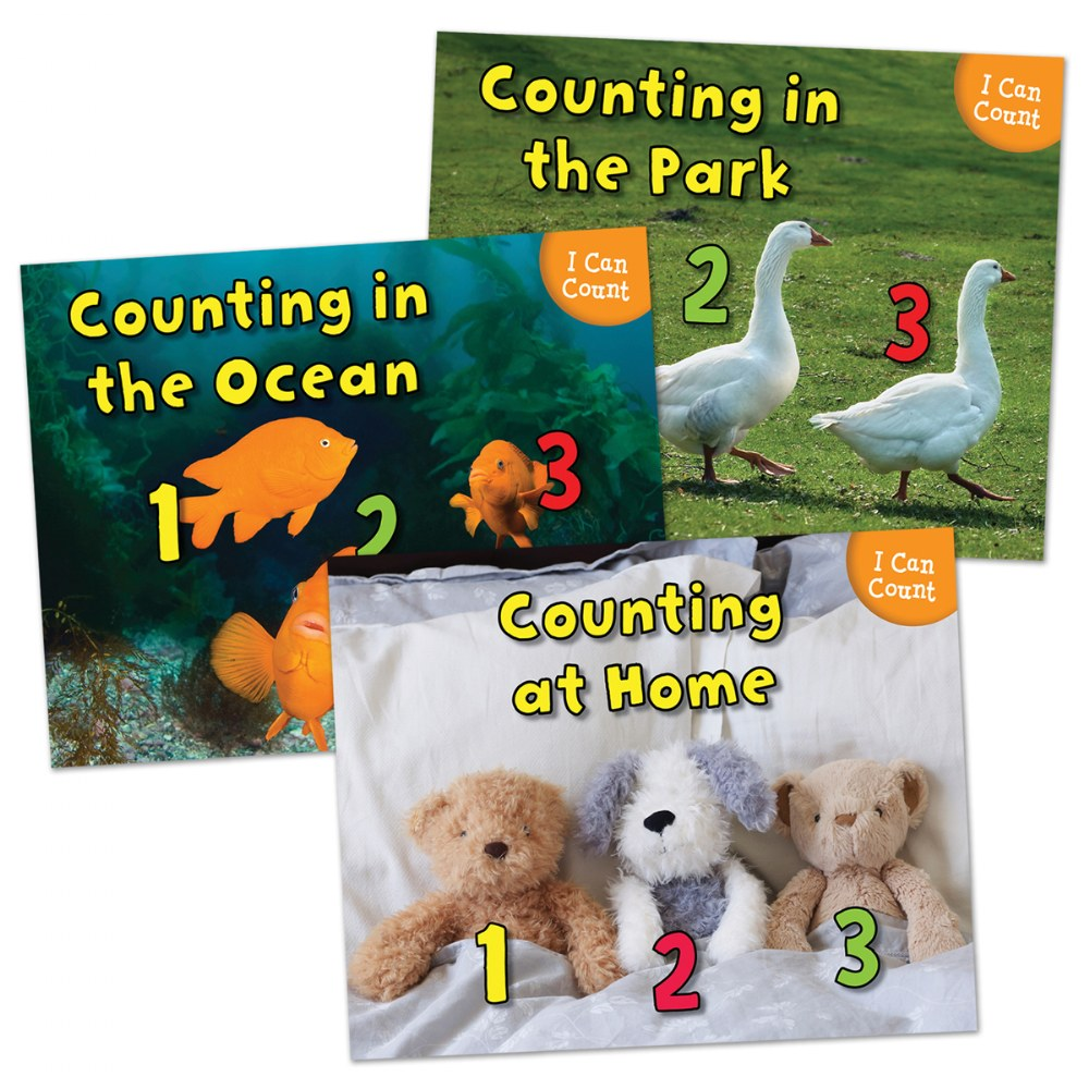 I Can Count Books - Set of 3