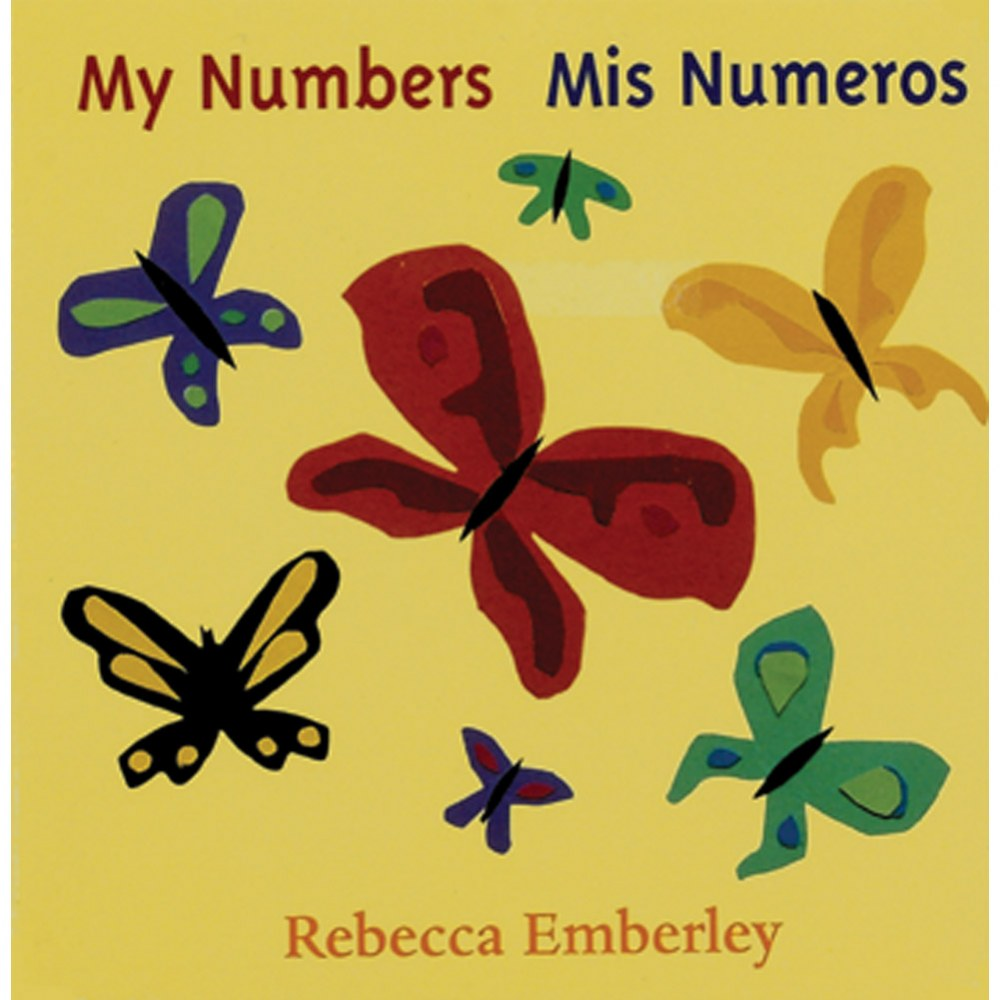 My Numbers / Mis Numeros - Board Book