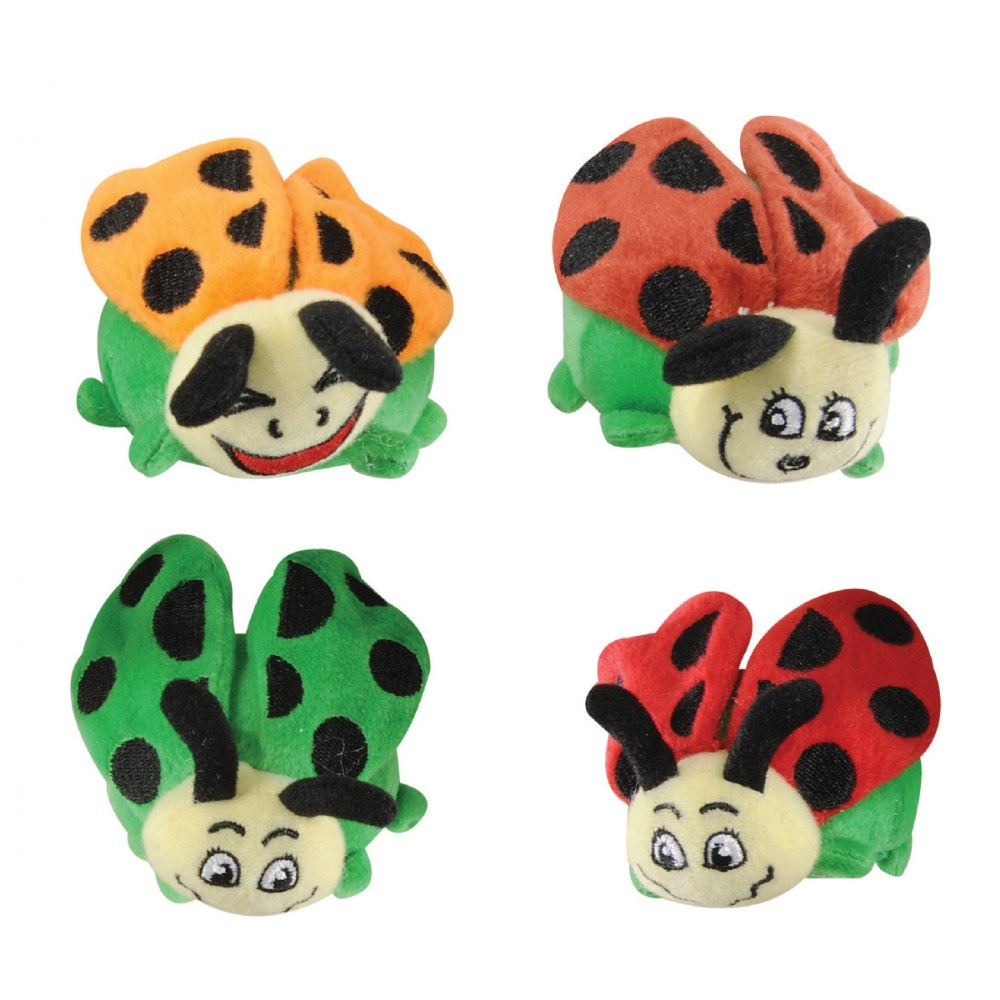 Alternate Image #2 of Toddler Crinkle and Texture Magnetic Ladybugs