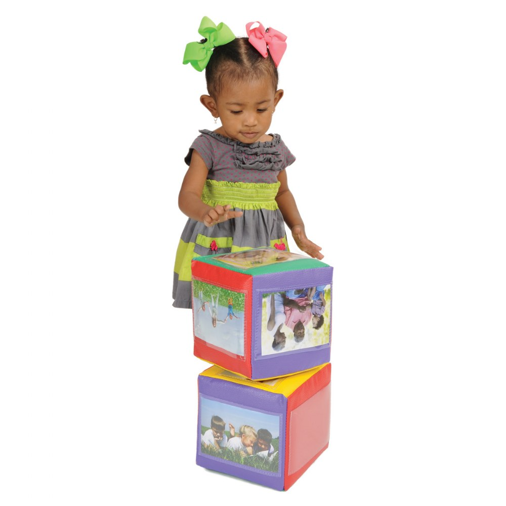 Alternate Image #2 of Photo Cubes - Set of 2