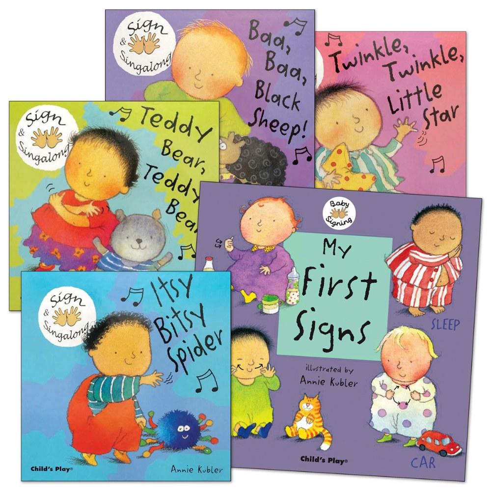 Baby Signing Board Books - Set of 5