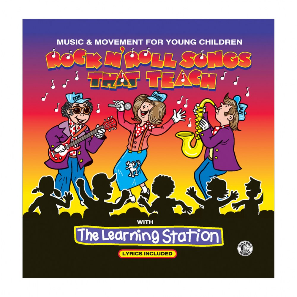 Rock N Roll Songs That Teach - CD