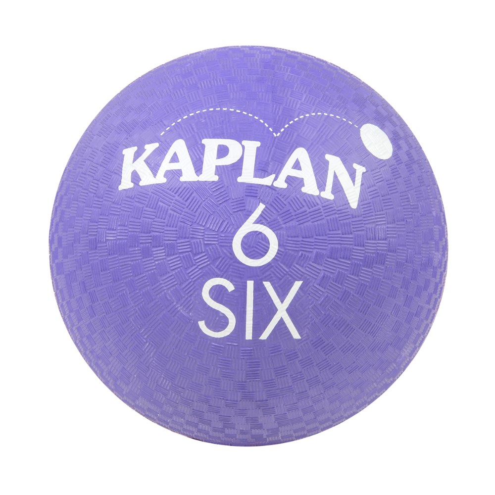 Alternate Image #6 of Kaplan Colored Playground Balls - Set of 6