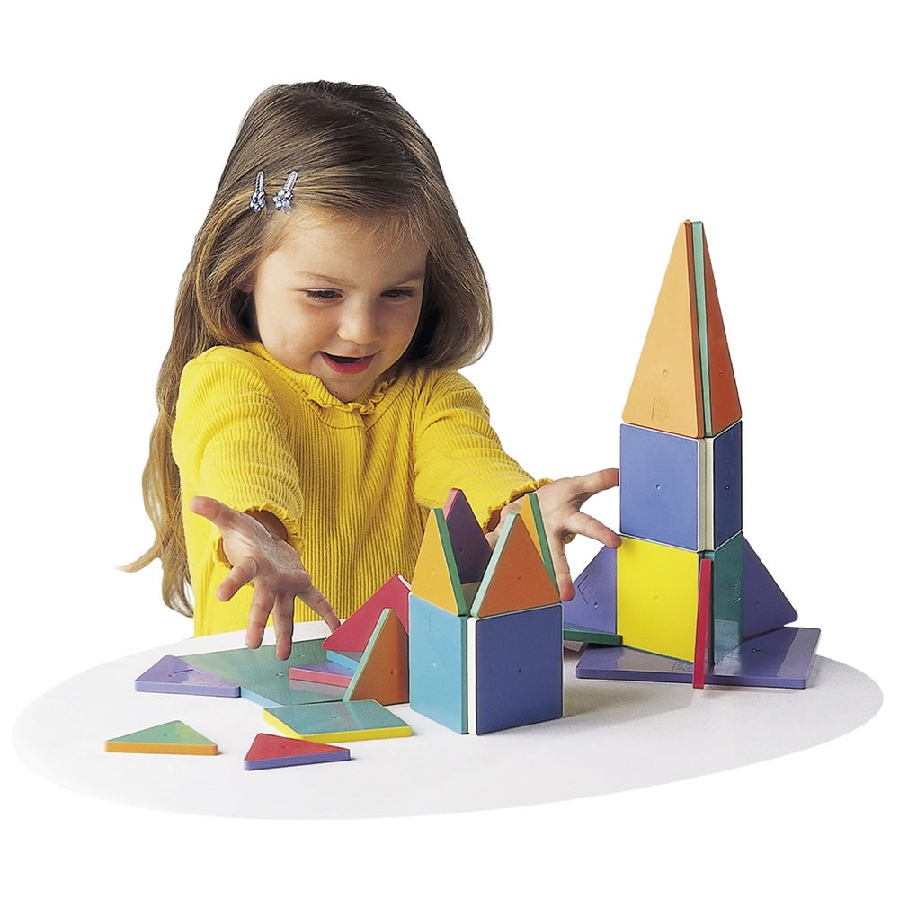 Magna-Tiles® 32-Piece Colored Magnetic Set