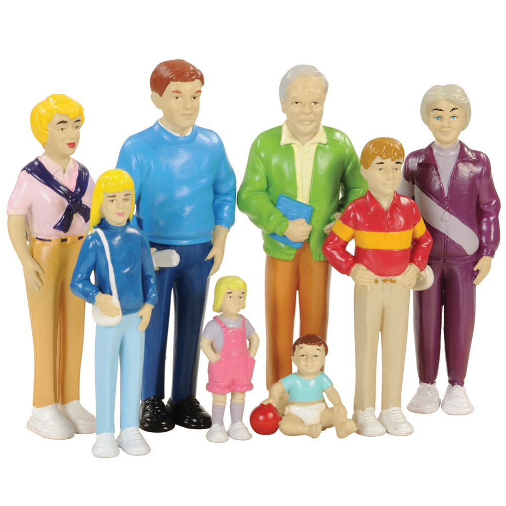 Family Play Set - Caucasian
