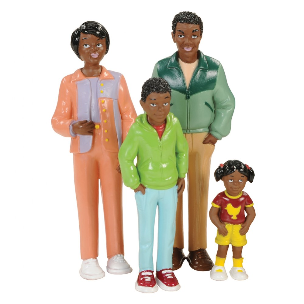 Alternate Image #2 of Family Play Set - African-American