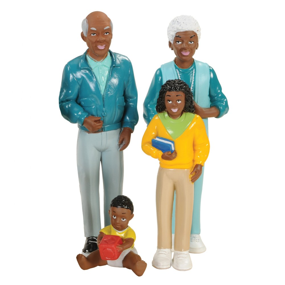 Alternate Image #3 of Family Play Set - African-American