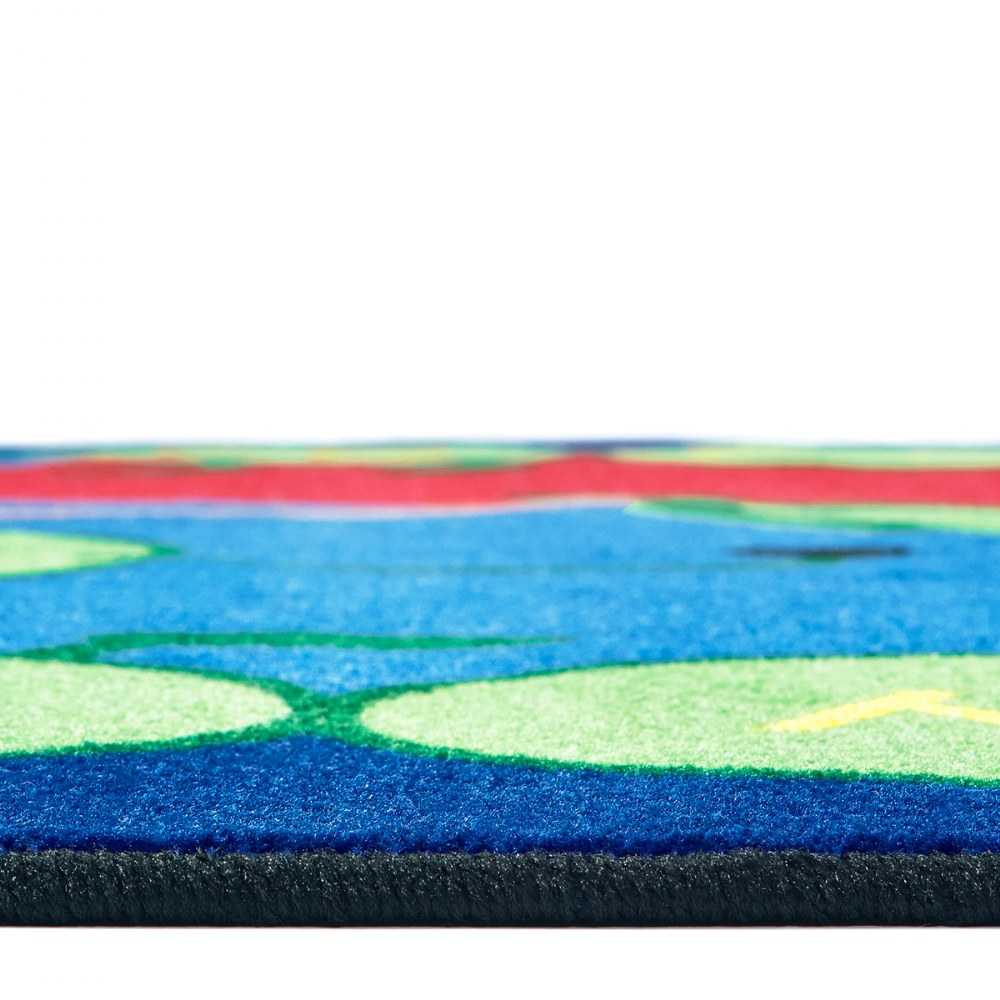 Alternate Image #1 of ABC Caterpillar Rugs
