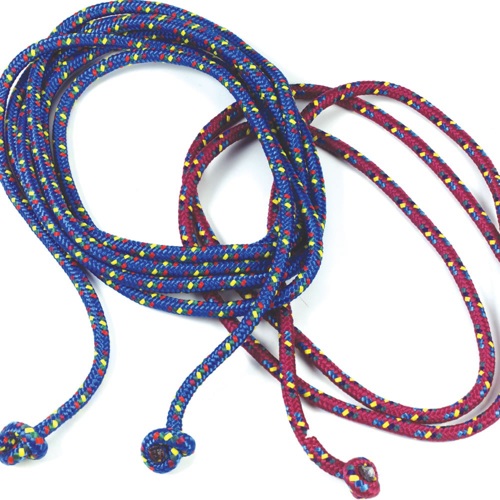 8' Confetti Jump Ropes - Set of 4