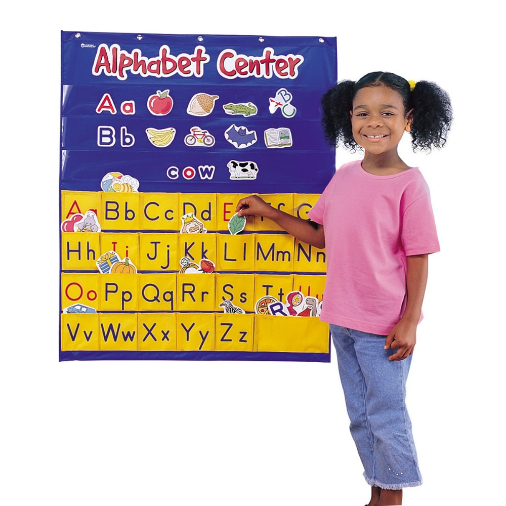 Alternate Image #1 of Alphabet Center Pocket Chart
