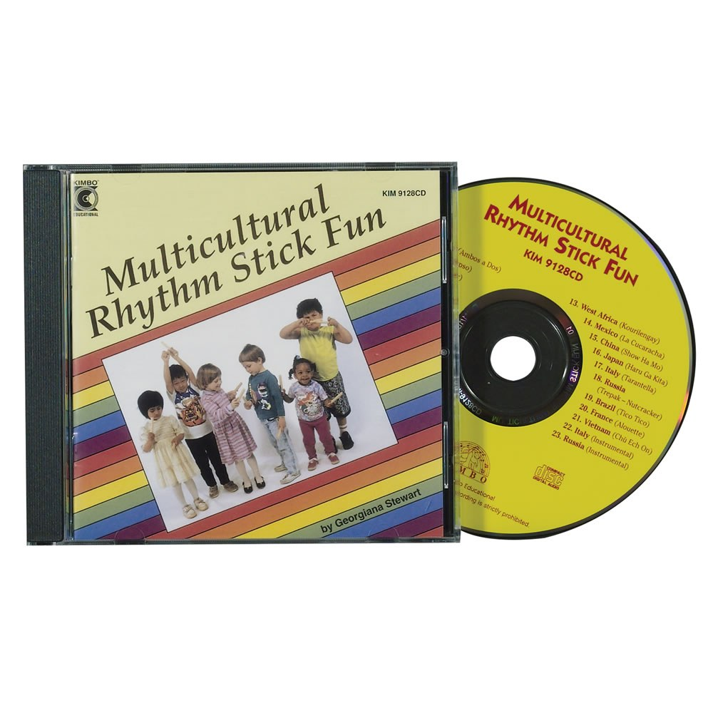 Multicultural Rhythm Stick Fun (CD)