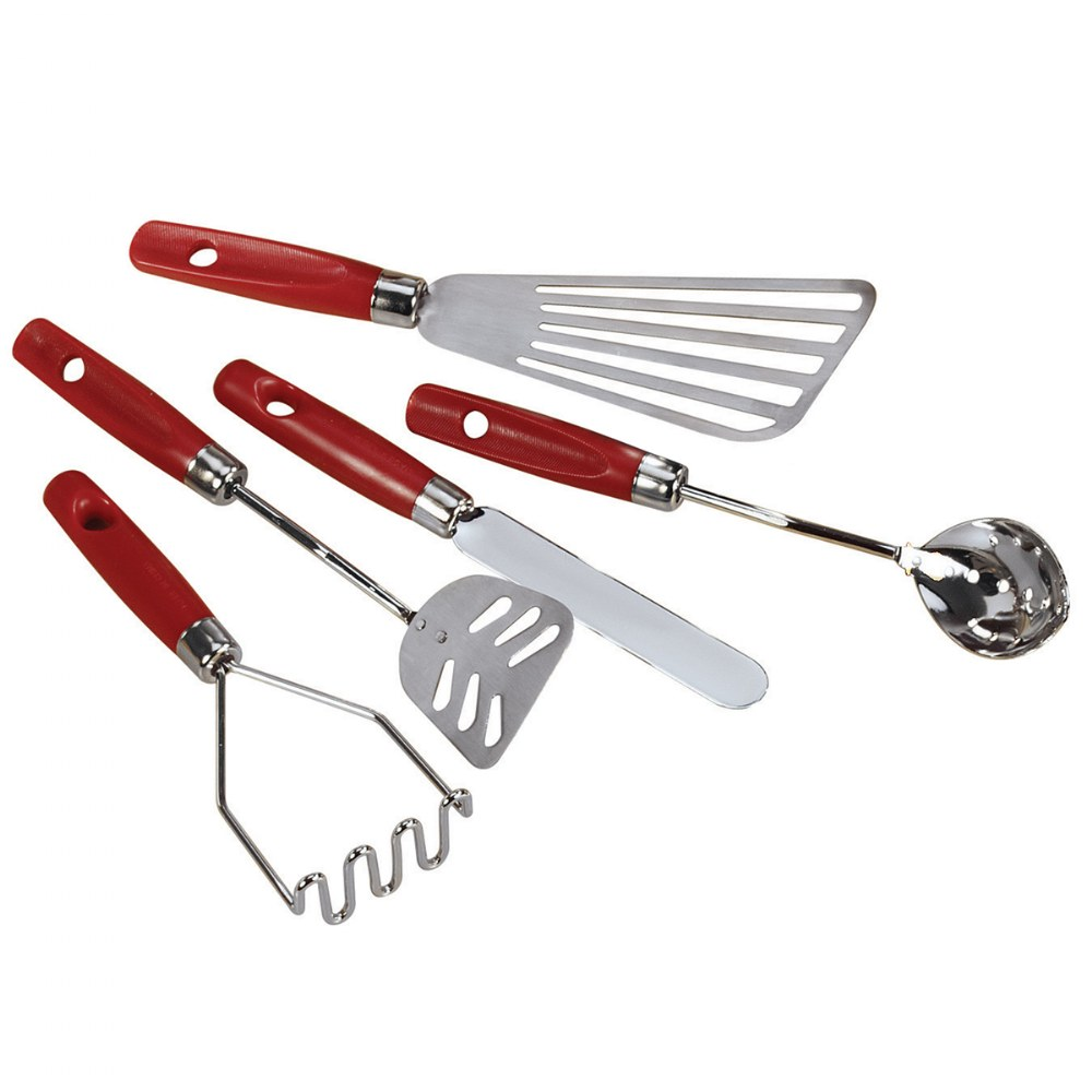 Alternate Image #2 of Aluminum Cooking Set and Utensils