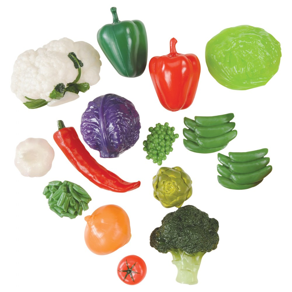 Alternate Image #1 of Vegetable Set in Container - 28 Pieces