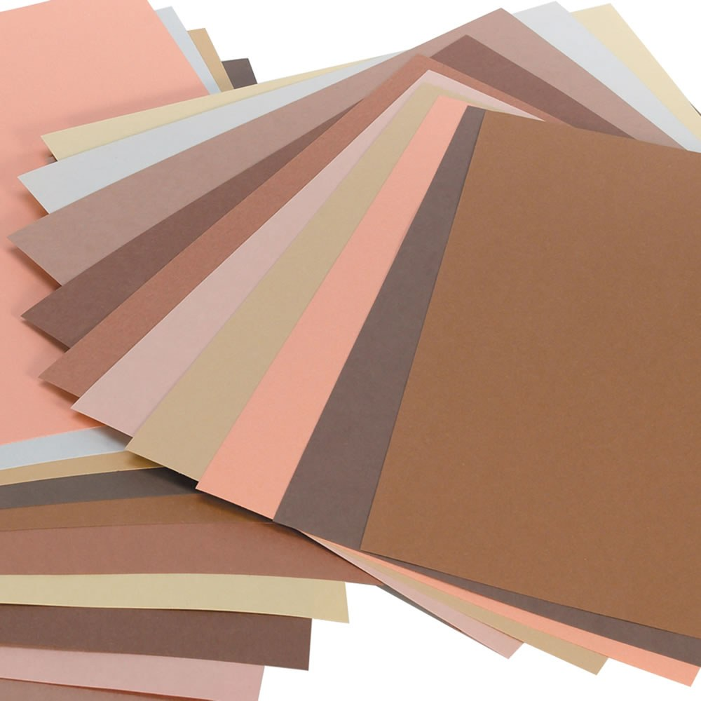Multicultural World Construction Paper (50 Sheets Per Pack)