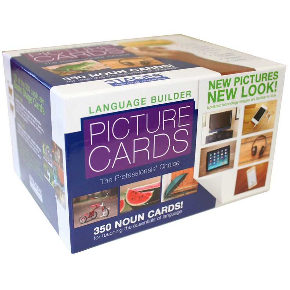 Alternate Image #3 of Language Builder Photo Cards - Picture Nouns