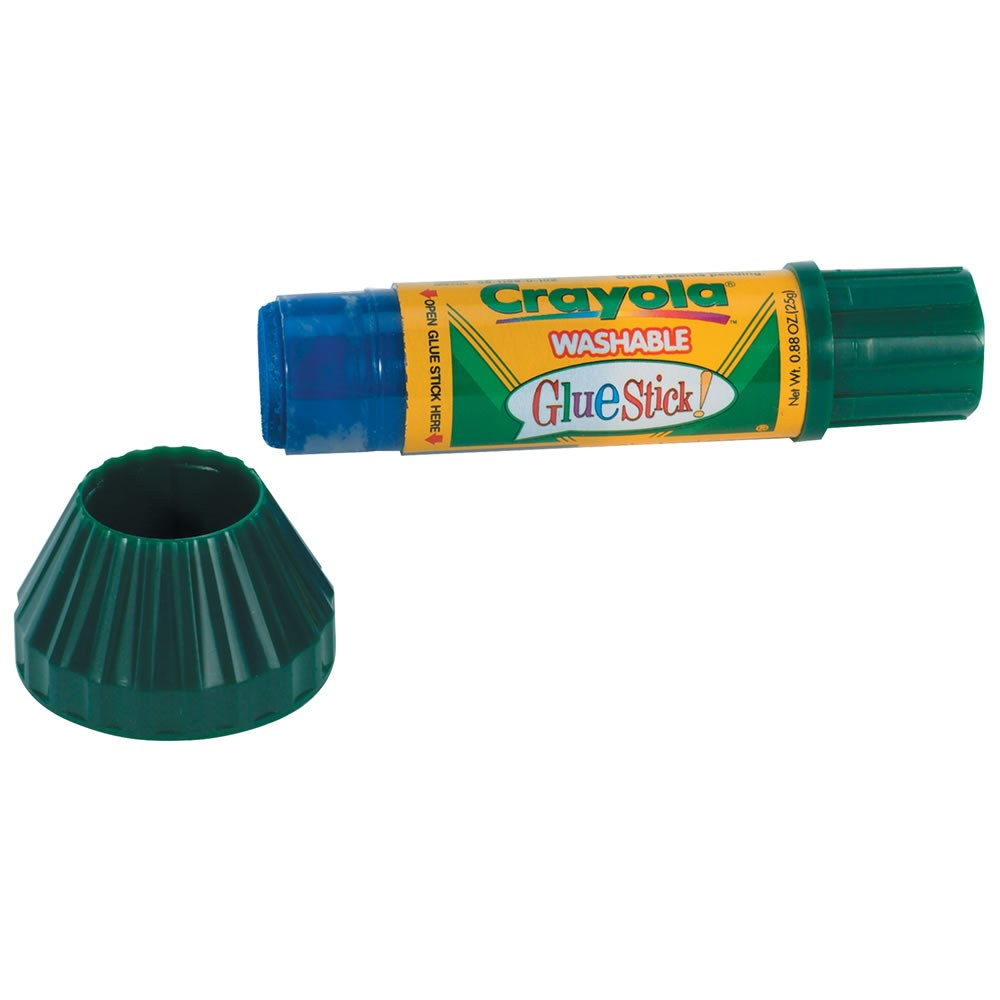 Alternate Image #1 of Crayola® Washable Glue Sticks (Set of 12)