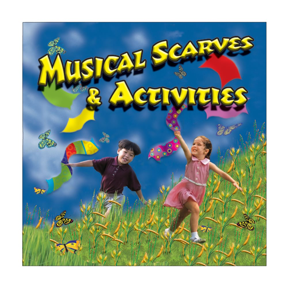Alternate Image #2 of Musical Scarves & Activity CD and 12 Colorful Scarfs