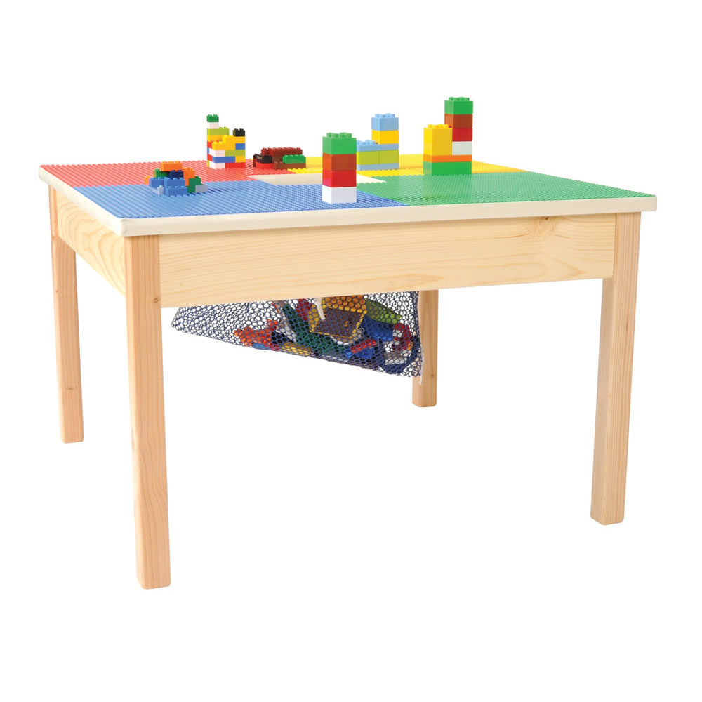 "Fun Builder Block Table 27"" x 27"""