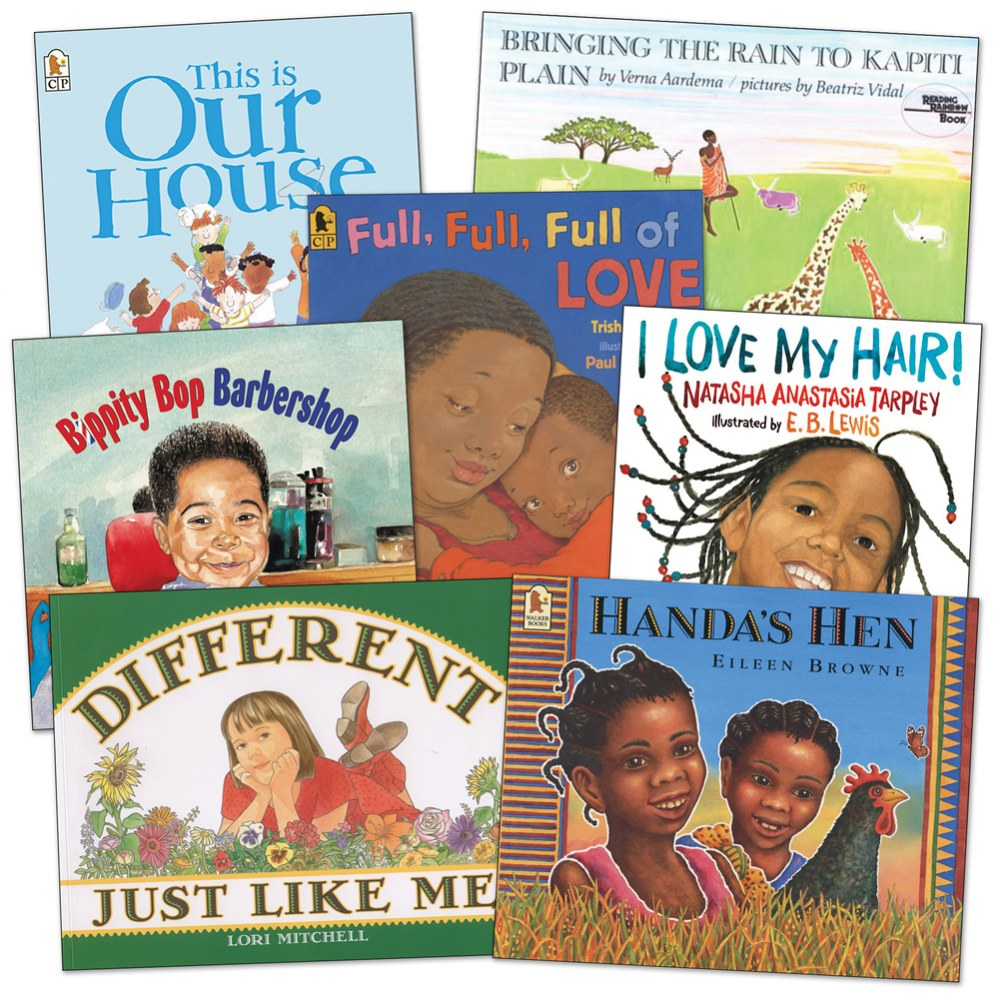 At Home with Diversity Books - Set of 7