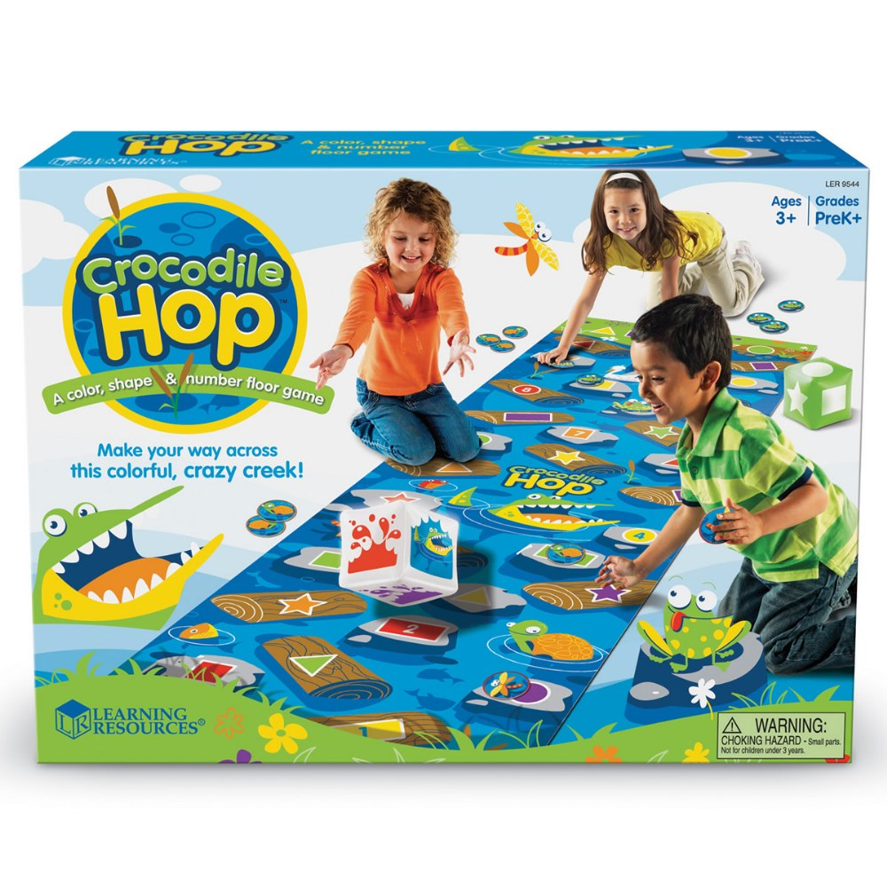 Alternate Image #3 of Crocodile Hop™ Floor Game