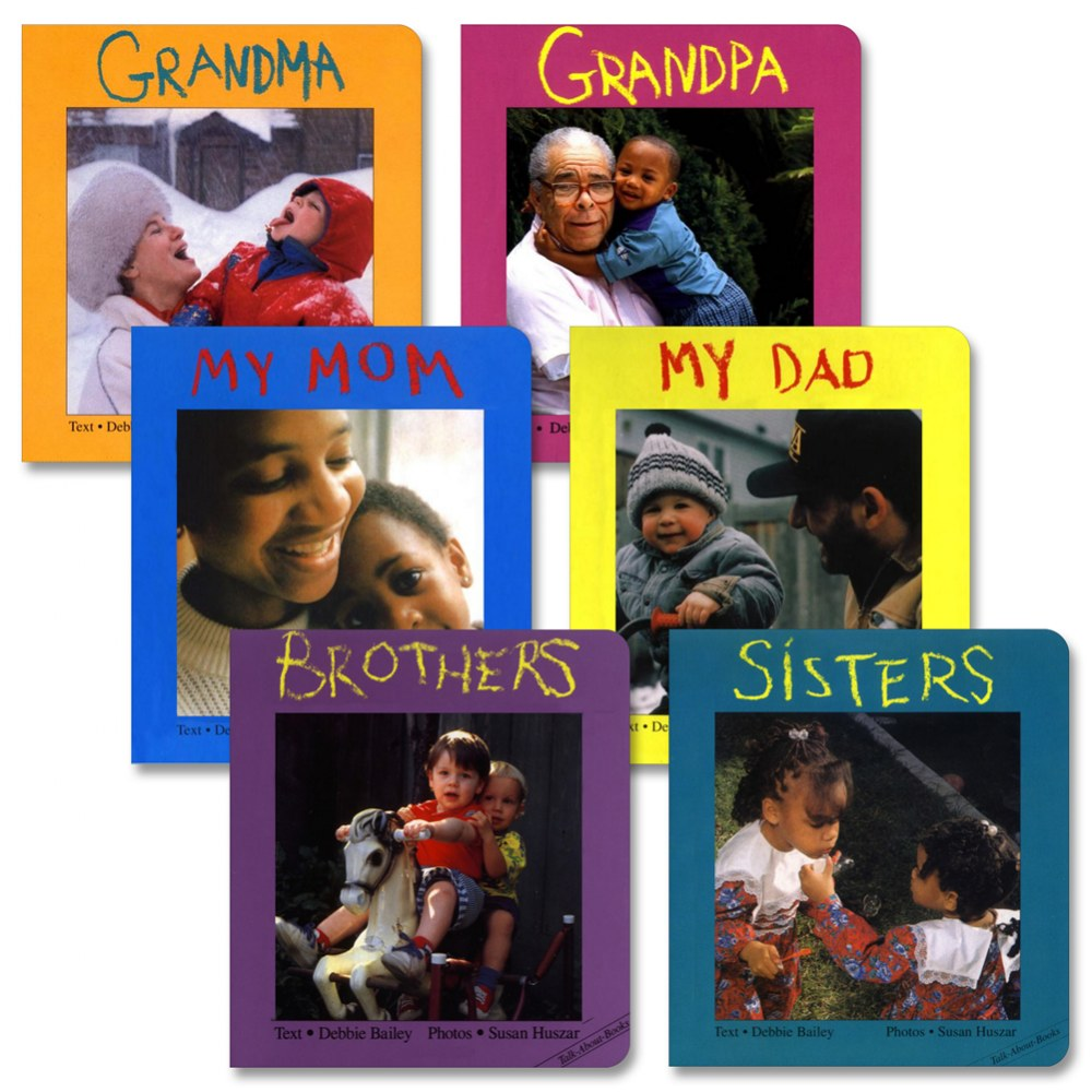 Family Board Books - Set of 6