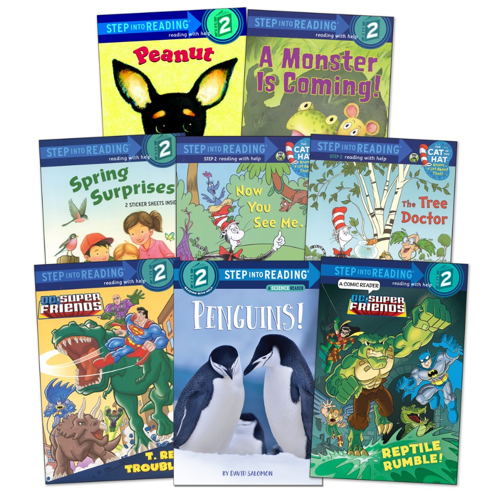 Step Into Reading Book Set - Level 2 - Set of 8