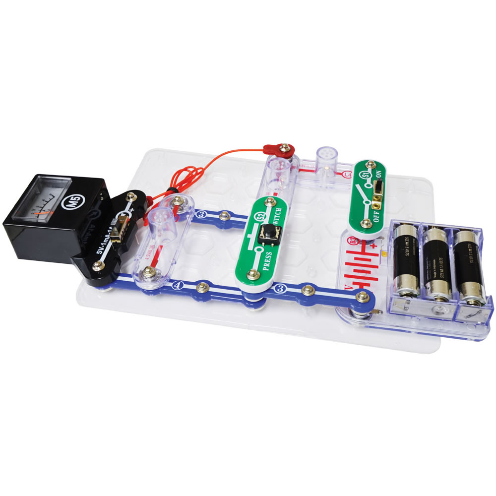 Alternate Image #1 of Snap Circuits® Basic Electricity and Electronics Exploration Kit