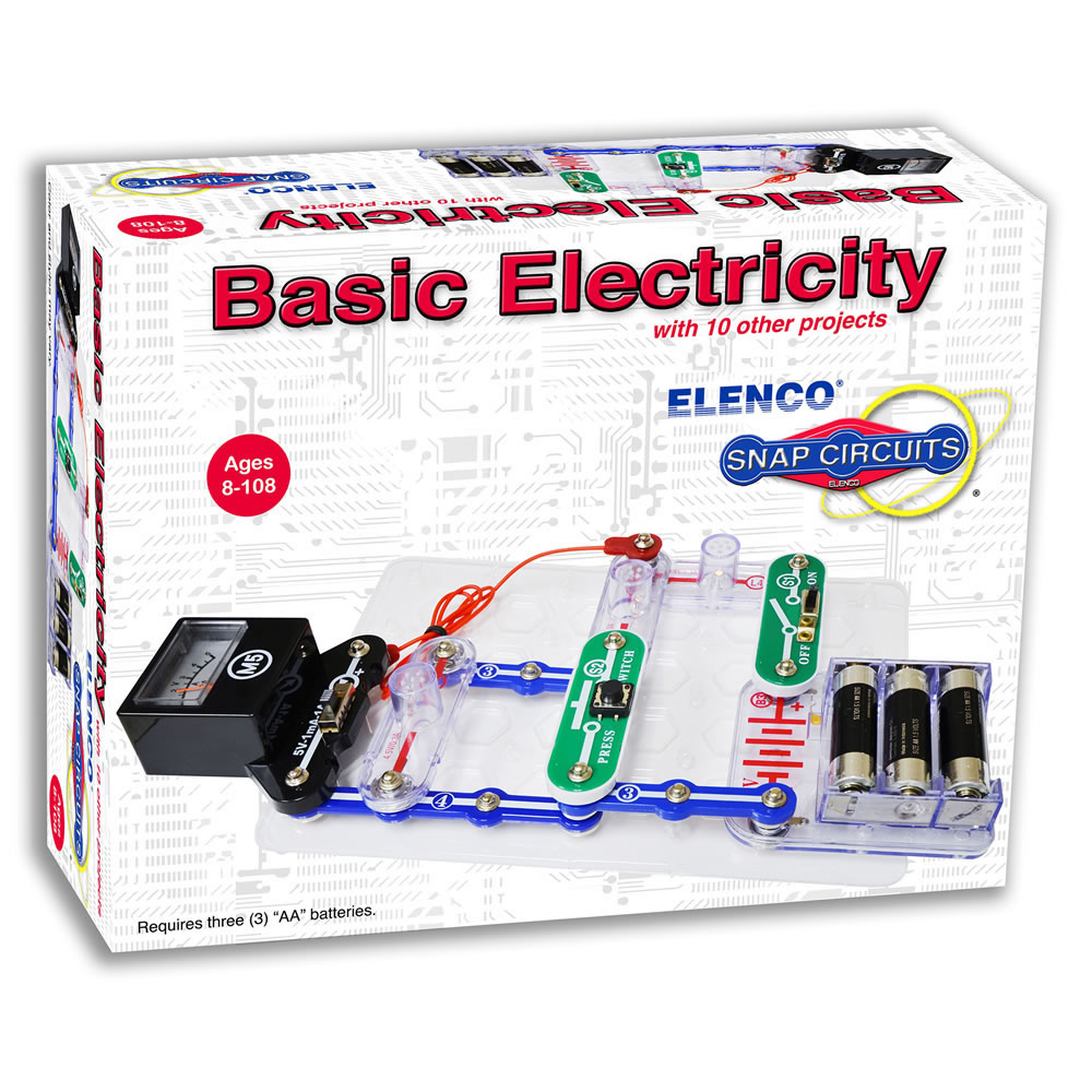 Snap Circuits® Basic Electricity and Electronics Exploration Kit
